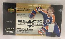 2006-07 Upper Deck Black Diamond Factory Sealed Hockey Hobby Box