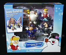 New FROSTY the SNOWMAN Winter Parade FIGURINE SET Prof Hinkle KAREN Cake Toppers
