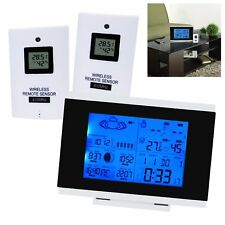 Digital Indoor Outdoor Wireless Weather Station Radio Controlled Clock RCC DST