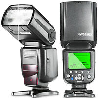 Neewer Flash Speedlite with Flash Diffuser for Canon 5D Mark III 5D Mark II 7D