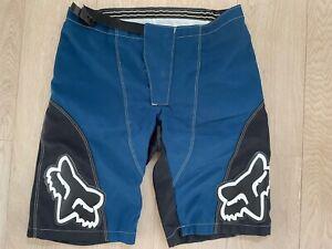 FOX RACING MTB Short Enduro, blau, Größe 36 (ausgewiesene Größe 38)