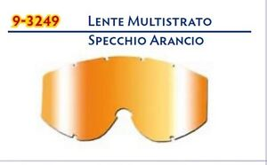 Lentille Miroir Iridium Orange Lunettes progrip