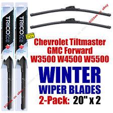WINTER Wipers 2pk Premium fit 1995-2009 GMC Forward W3500 W4500 W5500 - 35200x2