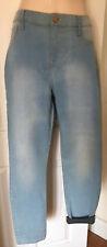 Mujer Riverisland se desvaneció Jeggings Jeans Tamaño 16