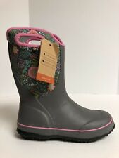 Bogs Slushie Snow Boot Gray 6 M Big Kid