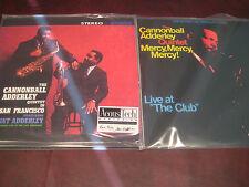 CANNONBALL ADDERLEY Live SAN FRANCISCO AUDIOPHILE 2 LP 45 RPM LOW #D 138 +BONUS