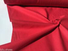 Telas y tejidos color principal rojo de tela por metros de 100% algodón para costura y mercería