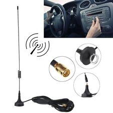DAB Aerial Antenna For Car SMA Radio Magnetic Base 28cm High Gain 4m Cable