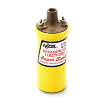 ACCEL 8145ACC Ignition Coil - SuperStock - Breakerless Electronic Coil - Yellow