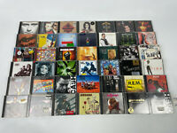 CD Sammlung Rock Alben 42 Stück - REM Massiv Attack Nirvana Guns n Roses Genesis