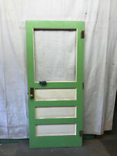 Single Door Interior Single Pane Glass Architectural Salvage School 36x83-1/2