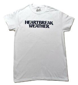 Niall Horan Mens Heartbreak Weather White Tee Shirt New S