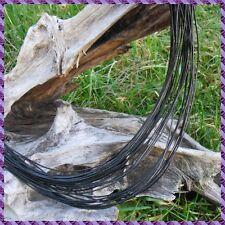4 m de cordon cuir en bout d'un mètre chacun