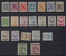 Austria 1925 - 1932 Sc #303 - 324 Mostly Mnh (1s Crease - Sideways Mlh
