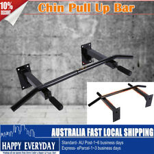 HEAVY DUTY PORTABLE DOORWAY CHIN UP BAR EXERCISE PULL UP WORKOUT GYM WALL MOUNT