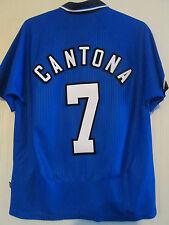 Manchester United Cantona 1996-1998 Away Football Shirt Large /39725