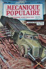 REVUE MECANIQUE POPULAIRE N° 035 URANIUM TIMBRES POSTE CHEVROLET CHIEN 1949
