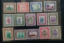 NORTH BORNEO 1939 1c to $2 SG 303 - 316 Sc 193 - 206 pictorial MLH
