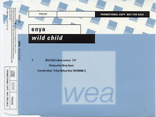"ENYA ""WILD CHILD"" RARE PROMOTIONAL CD SINGLE / NEW AGE MUSIC - CLANNAD"