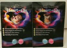 HEART-ON Male & Female Sexual Enhancement 4Pill! New Game Changer for two! WOW!!