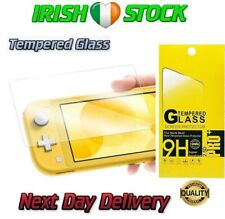 Nintendo Switch Lite Console Screen Protector Cover Premium Tempered Glass 9H