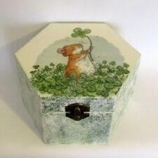 Jewellery Box/Trinket Box. 'Lucky Clover,'