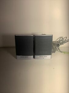 Harman / Kardon Model SP05A04 Powered Computer Speakers Made For Hewlett Packard