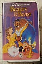 Beauty and the Beast 1992 Vhs A Walt Disney Classic - Diamond Classic (Rare)