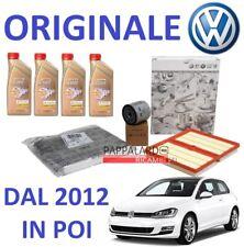 KIT TAGLIANDO FILTRI ORIGINALI + OLIO CASTROL VW GOLF 7 VII 1.2 TSI 63KW - 81KW