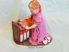 """Norman Rockwell """"Little Mother """" 1979 figurine"""