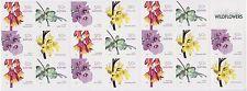 Australia Stamp Booklet 2007 Australian Wildflowers B318 Unfolded