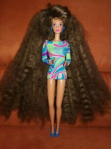 Barbie Ultra Totally Hair Whitney Steffie Face Malaysia Mattel original Kleid
