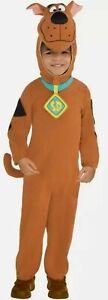 Childs Fleece Scooby Doo Fancy Dress Boys Costume Kids Large 8-10 Years