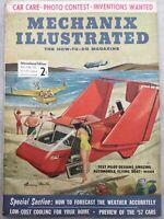 Mechanix Illustrated Magazine - September 1956 - Cars for 1957, Photography