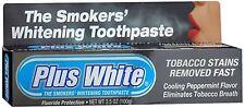 Plus White Smokers' Whitening Toothpaste 3.50 oz (Pack of 2)