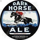 """DARK HORSE ALE 11.75"""" ROUND METAL SIGN"""
