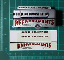 Matchbox Nr.74 A MOBILE REFRESHMENTS CANTEEN - Waterslide Decal EFFETTO VINTAGE