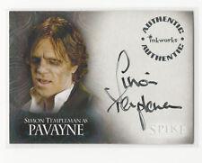 Buffy Tvs - Spike Tcs - Simon Templeman As Pavayne Autograph Card - #A10