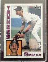 1984 Topps #8 Don Mattingly - NY Yankees RC CENTERED  NM -MT!