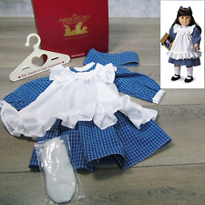 NEW American Girl Clothes Doll Samantha PLAY DRESS PINAFORE APRON Nellie Kirsten