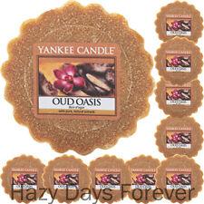 10 cera Yankee Candle pasticcini OUD OASIS fonde calmante tartlets FRESCO