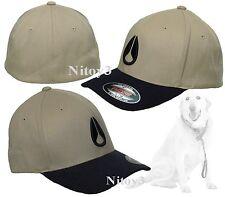 Nixon Deep Down Hat Flexfit-Embroidered Logo-Six Panel Men SM/Med