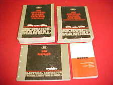 1995 FORD RANGER PICKUP TRUCK SHOP SERVICE REPAIR MANUAL 4 BOOKS 95 + EVTM SPECS