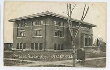 Public Library AURORA NE Vintage Nebraska Postcard