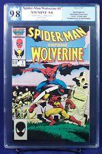 SPIDER-MAN vs. WOLVERINE #1 One Shot  PGX 9.8 NM/MT Near Mint/Mint!  HTF!