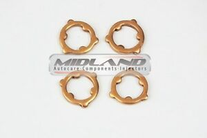 Mazda Denso Fuel Injector Common Rail Diesel Fuel Injector Washers Seal X 4*NEW*