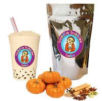 Pumpkin Spice Boba/ Bubble Tea Powder by Buddha Bubbles Boba (10 Ounces)