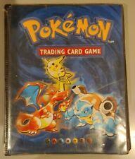 Original Empty Pokemon 1999 Vintage 4 pocket Card Folder Album WOTC Binder