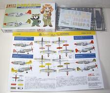 1/144 SWEET 14118 Mustang P-51B/C 2 kits in a box