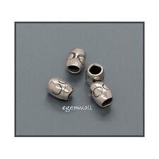Thai Hill Tribe Silver Tube Heishi Beads 3mm 50PC 51394